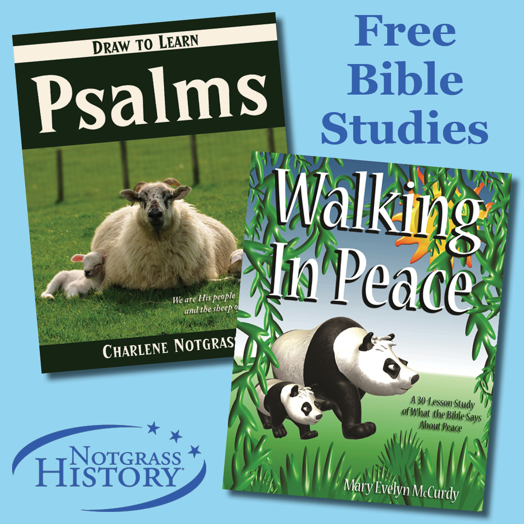 Free Bible Studies from Notgrass History