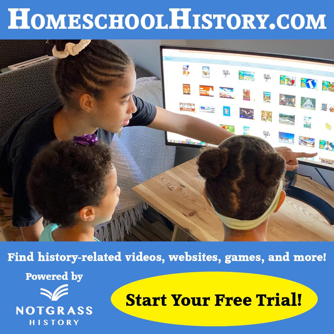HomeschoolHistory.com - Start Your Free Trial
